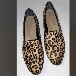 Alfani Step 'N Flex Flats Loafers Leopard 8.5